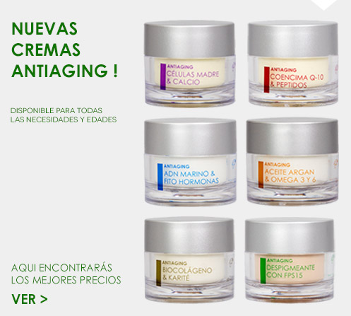 Cremas antiaging